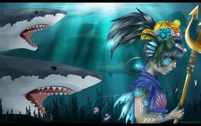 Sea creature_ by Kazemye