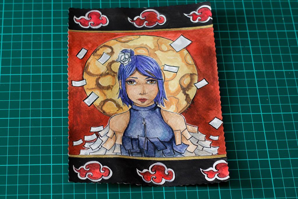 Konan the Origami queen by Kazemye