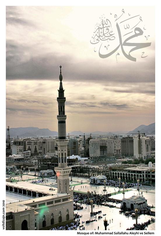 Prophet's Mosque by bx