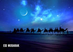 Eid Mubarak by bx