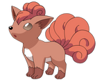 Vulpix Vector by Tarindel