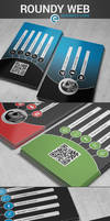 Roundy Web Business Card
