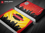 Travel Agency Business Card by theeldis