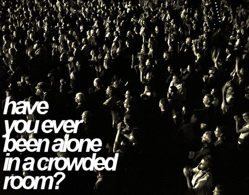 Video: Alone in a crowded room