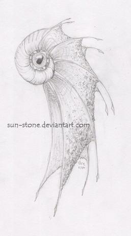 Sea Creature by sun-stone