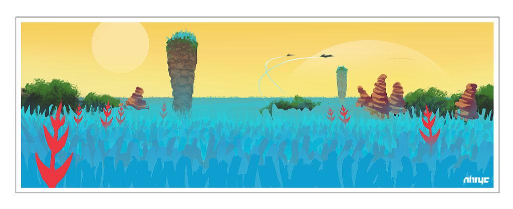 No Mans Sky Fan-Art by nirryc