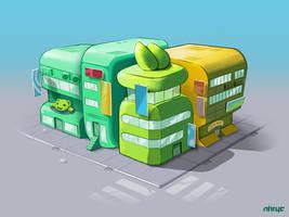 I Tek-Yo Stuff - Fun District Concept by nirryc