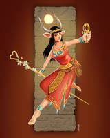 Hathor (Character Design Challenge entry)