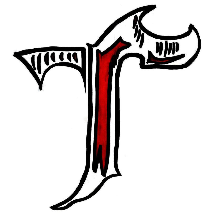 tribal letter t by TuRk-Himself on DeviantArt