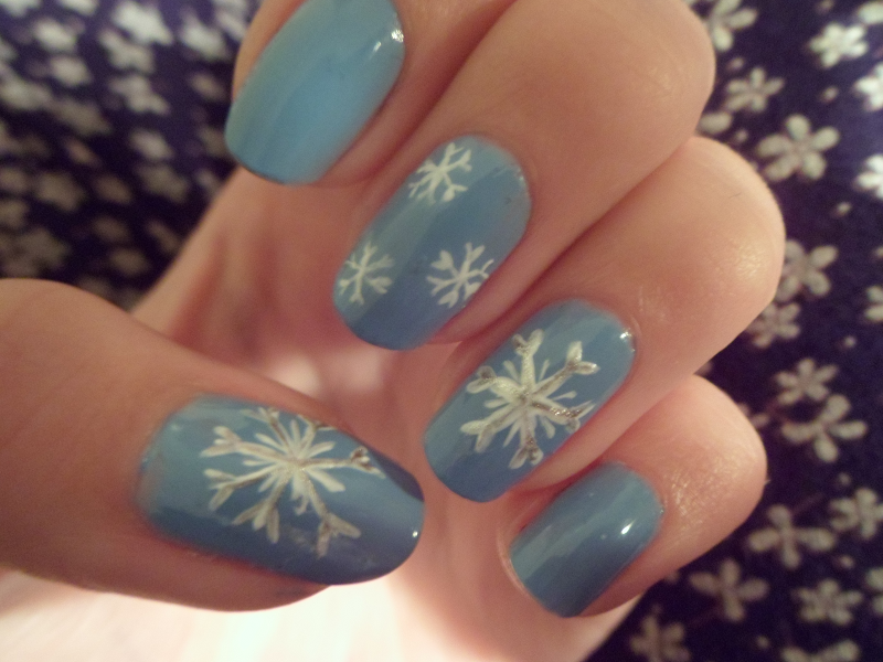 Snow Nailart by xRixt