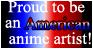 American Anime Artist by WarriorofHeaven