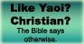 Christians who Like Yaoi by WarriorofHeaven
