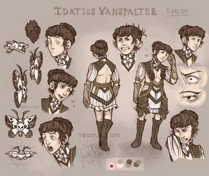 Idatius Vanspalter reff sheet