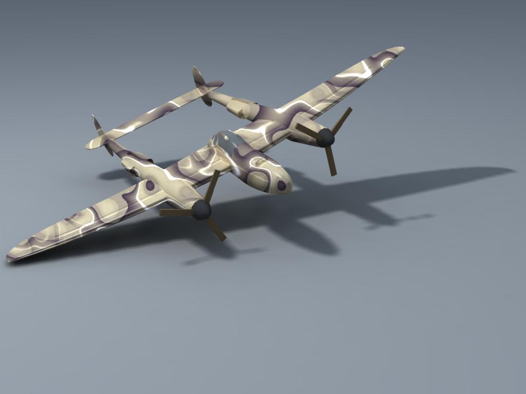 P38 Lightning - Camo