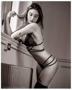 My First Lingerie photoshoot