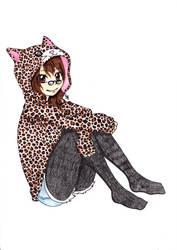 Self Portrait - Fairy Tail Style by Saja-san