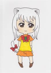 Fairy Tail - Carla in Human Form by Saja-san
