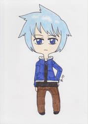 Fairy Tail - Gruvia Child by Saja-san