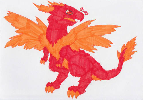 Dragon of the Fire Element