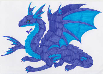 Dragon of the Water Element by Saja-san