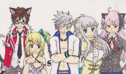 Aura Kingdom - Nightcore's Team Nyan! by Saja-san