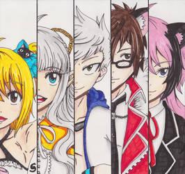 Aura Kingdom - Team Nyan 2.0 by Saja-san