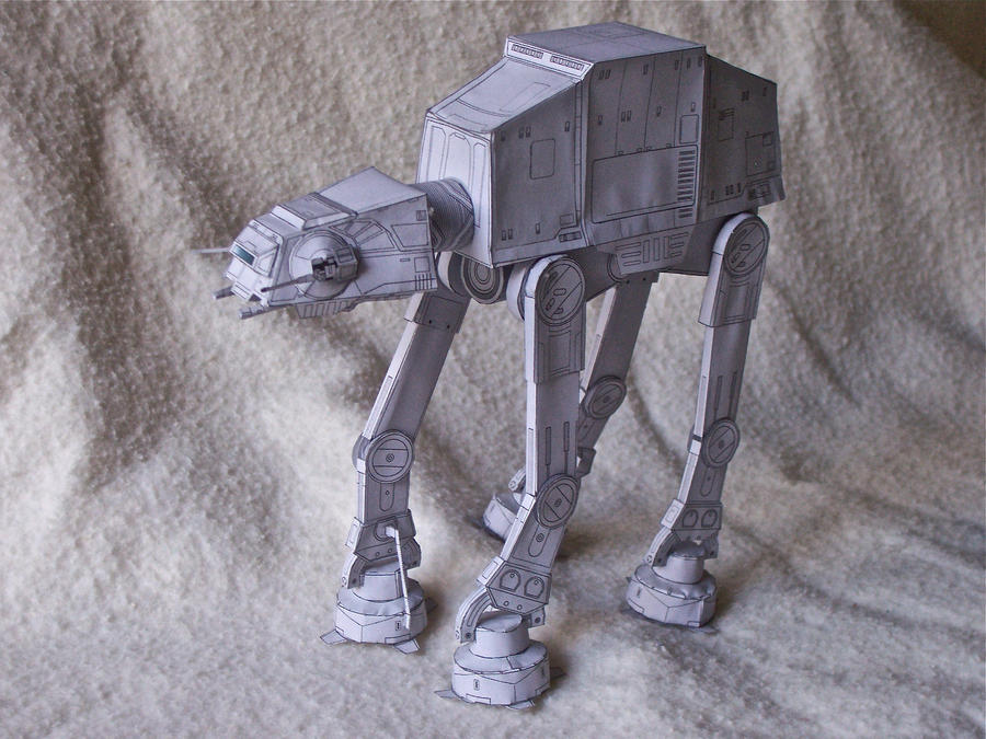 AT-AT Papercraft by KingHyren