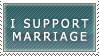 I Support Marriage by Rosenezz