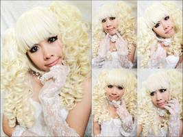 Burlesque Bride by dolldelight
