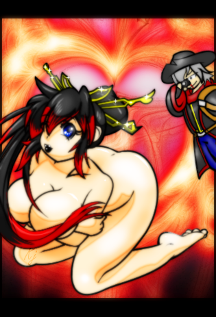 Kinky Kaguya by KING-JION