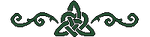 Celtic divider dark green by FoofyCakez