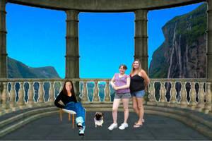 Karen, Fawn, Meghan and Jake in Paradise 6000x4000