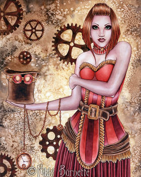 Portrait of a Steampunk #3 - Copper