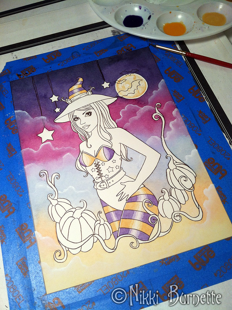 Work in Progress - Halloween Witch - Rylan by Aurella