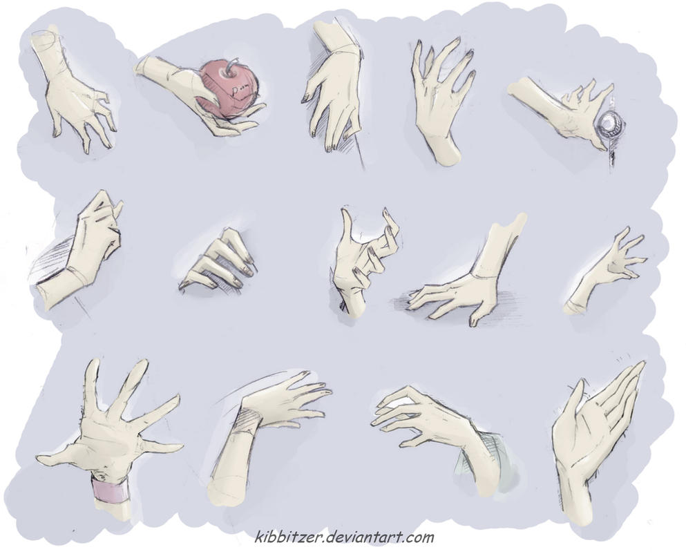 hands by Kibbitzer