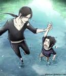 Itachi and sasuke lol training