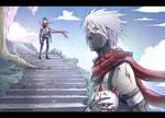 Kakashi and Itachi anbu