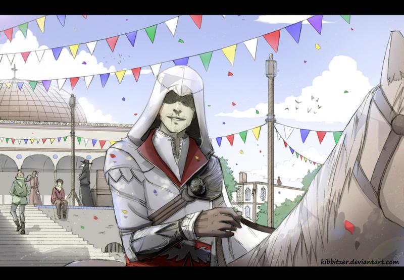 Ueeee ciao Ezio XD by Kibbitzer