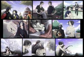 Itachi and Sasuke by Kibbitzer