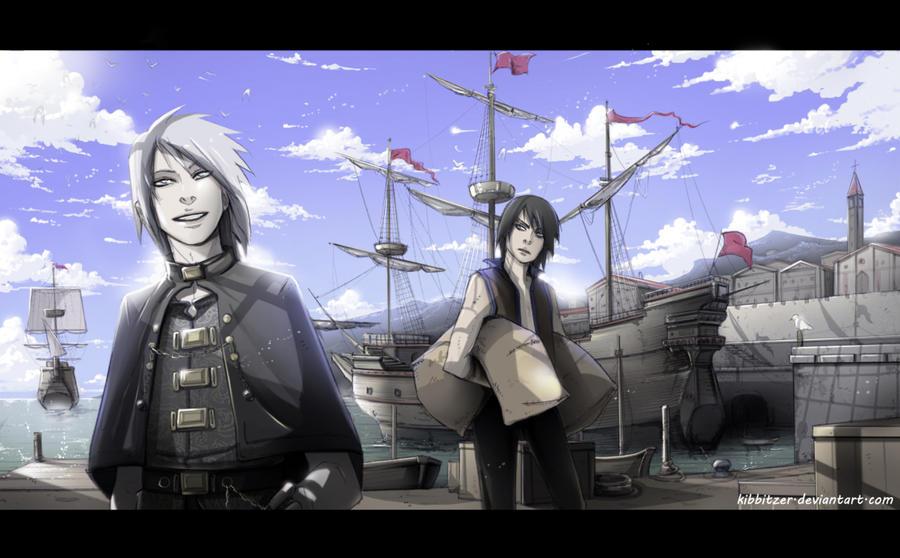 Luc and Saevil: Port by Kibbitzer
