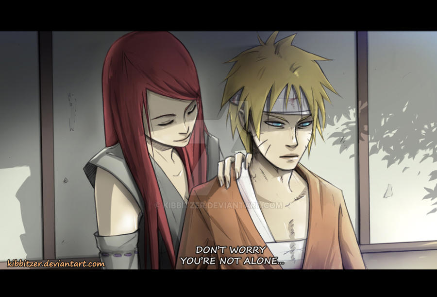 Naruto and Kushina: you're not alone by Kibbitzer