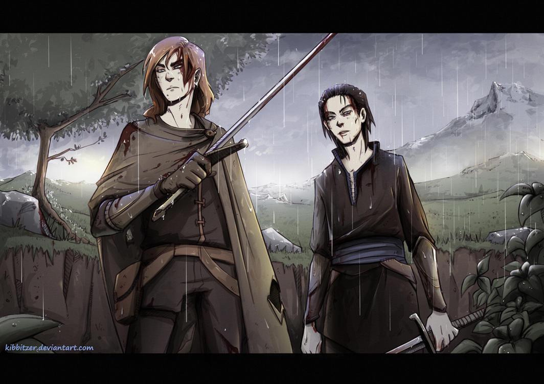Bloody swords by Kibbitzer