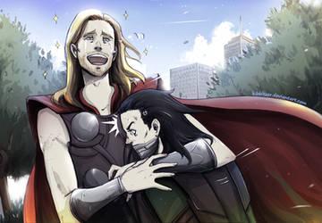 LOL Thor: manly tears XD by Kibbitzer