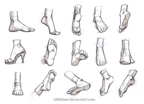 Feet Reference