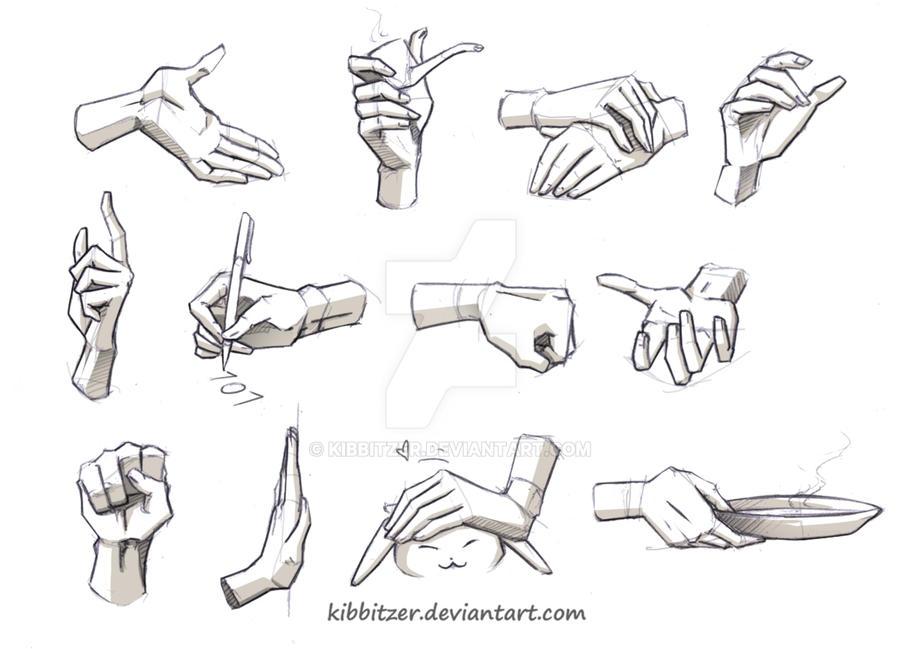 Hands Reference 2 By Kibbitzer On Deviantart