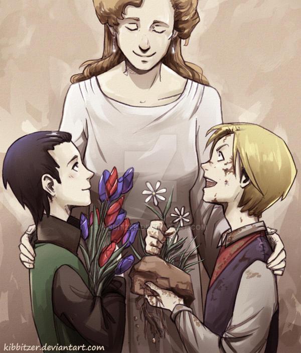 Thor-Loki: Little Asgardian Princes by Kibbitzer