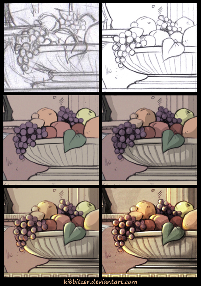 WIP- fruits by Kibbitzer