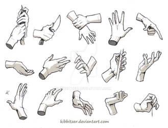 Hands Reference 3 by Kibbitzer