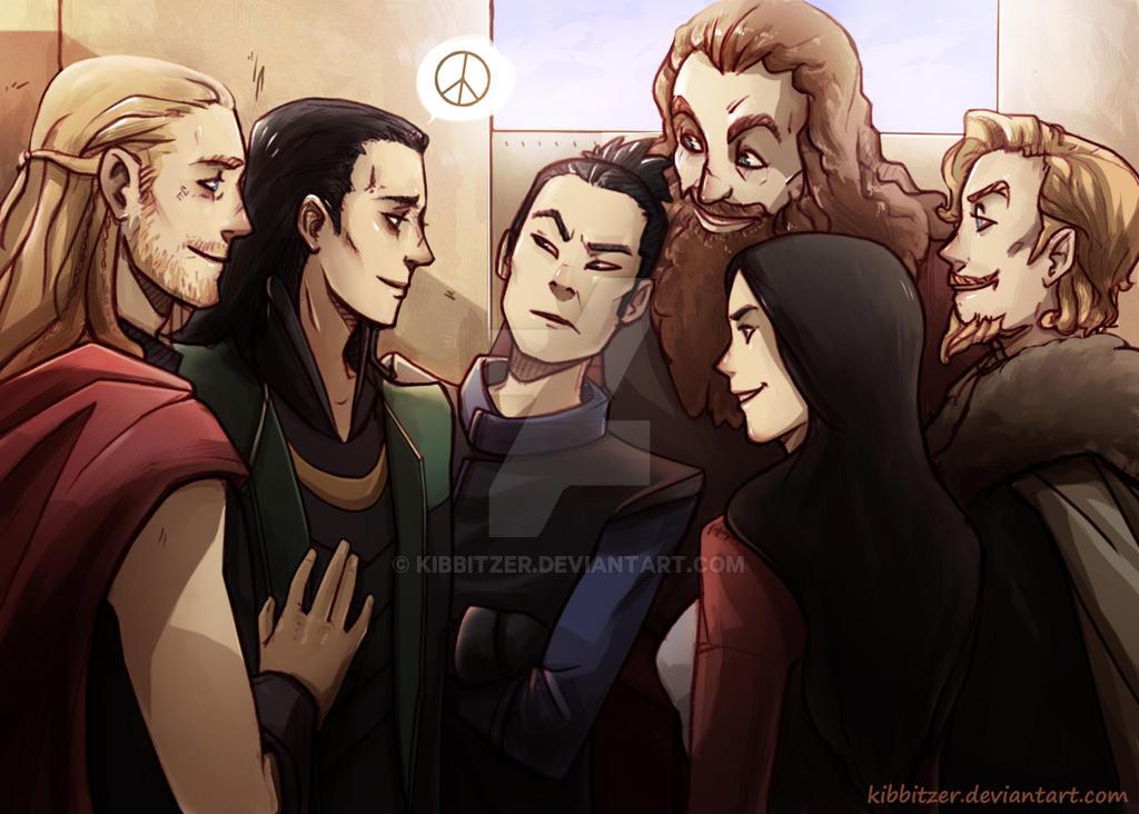 Loki is back! don't worry by Kibbitzer