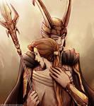 Frigga and Loki